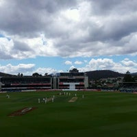 Photo taken at Blundstone Arena by Monty H. on 12/11/2011