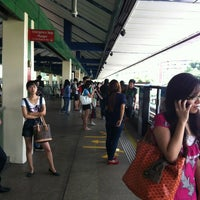Photo taken at Yishun MRT Station (NS13) by Remy Hayden on 4/2/2012
