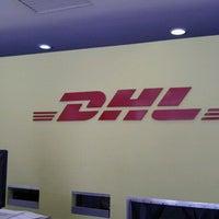 Photo taken at DHL Express by Alejandra S. on 10/8/2011
