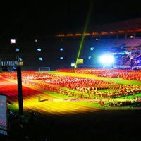 Photo taken at Stadion Gelora Bung Tomo by City of Heroes on 4/14/2012