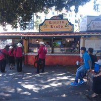 Photo taken at Olvera Street by Krista S. on 8/18/2012