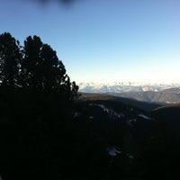Photo taken at Intermedia Funivia Alpe Cermis by Anton D. on 12/28/2011