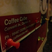 Photo taken at Coffee Cube by LiBiN C. on 6/22/2012