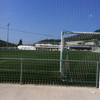 Photo taken at Camp De Futbol Vilomara by TAXI650 BAGES 6. on 5/16/2012