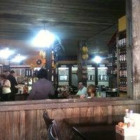 Photo taken at Mané e Maria - Restaurante e Cachaçaria by Luana B. on 7/14/2012