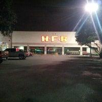 Photo taken at H-E-B by Jason P. on 7/10/2012