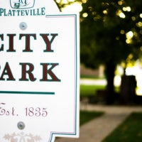 Photo taken at City Park by City of Platteville on 5/8/2012