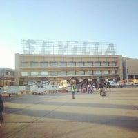 Photo taken at Aeropuerto de Sevilla (SVQ) by Shayan S. on 6/8/2012