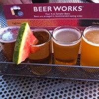Photo taken at Boston Beer Works by Renee D. on 6/15/2012