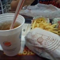 Photo taken at Burger King by Marcos Paulo C. on 3/16/2012