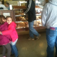 Photo taken at Munchers Bakery by Bob D. on 2/18/2012