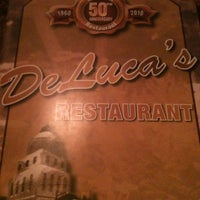 Photo taken at DeLuca's Restaurant and Pizzeria by Amy K. on 5/15/2012