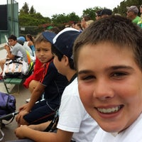 Photo taken at USD Tennis Courts by Tom S. on 6/27/2014