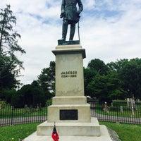 """Photo taken at Thomas """"Stonewall"""" Jackson's Grave by Danielle on 6/27/2015"""