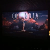 Photo taken at Cinemark by Giovanni on 10/8/2012