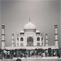 Photo taken at Taj Mahal by Vibhor S. on 3/24/2013