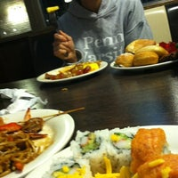 Photo taken at Mr. Hibachi Buffet by Marko G. on 12/12/2012