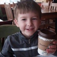 Photo taken at Caribou Coffee by Amy F. on 5/5/2013