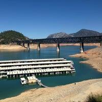 Photo taken at Pit River Bridge (VFW Memorial Bridge) by Roy L. on 9/16/2013