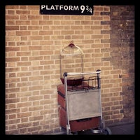 Photo taken at Platform 9¾ by Thiago G. on 2/11/2013