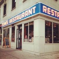 Photo taken at Tom's Restaurant by Kelly on 10/3/2012