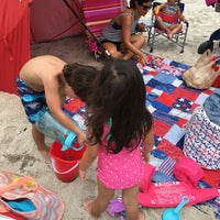 Photo taken at Pelican Beach Park by Mariela on 7/31/2016