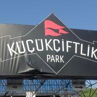 Photo taken at KüçükÇiftlik Park by Aray Onur G. on 5/4/2013