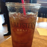 Photo taken at McAlister's Deli by Chris R. on 4/1/2014