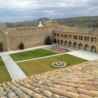 Photo taken at Monasterio de Rueda by Javier A. on 5/7/2013