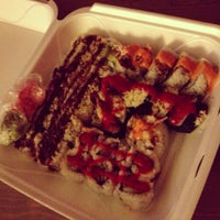 Photo taken at O'Sushi by Natalie on 10/16/2012
