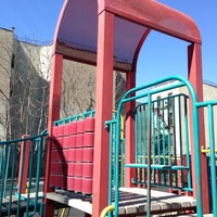 Photo taken at Park Slope Playground by Jason M. on 3/9/2013