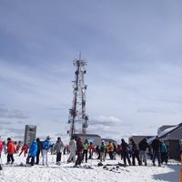 Photo taken at Sommet du Mont-Tremblant Summit by François-Xavier C. on 3/29/2013
