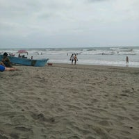 Photo taken at Playa de Canoa by gilmer s. on 10/12/2012