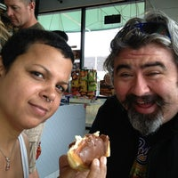 Photo taken at Holly's Donuts by Wendy H. on 6/4/2013