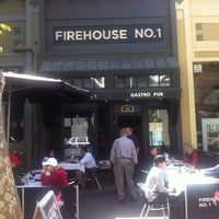 Photo taken at Firehouse No. 1 Gastropub by Richard A. on 4/25/2013