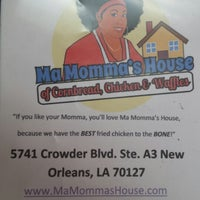 Photo taken at Ma Momma's House of Cornbread, Chicken & Waffles by Jai on 2/15/2014