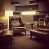 Photo taken at Etihad First Class Lounge & Spa by Alexander Amadeus Tiberius J. on 6/26/2013