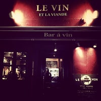 Photo taken at Bistro Le-VIN by Takashi S. on 3/12/2014