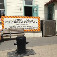 Photo taken at Brooklyn Ice Cream Factory by David K. on 4/28/2013