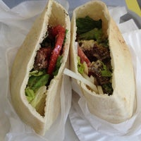 Photo taken at Pita Gourmet by KuwaitFoodie.com on 8/17/2013