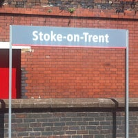 Photo taken at Stoke-on-Trent Railway Station (SOT) by Neil on 7/9/2013