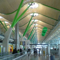 Photo taken at Adolfo Suárez Madrid-Barajas Airport (MAD) by Redha A. on 5/17/2013