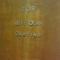 """Photo taken at Jeff Olan Casting by Matthew """"M@tch"""" R. on 4/18/2013"""