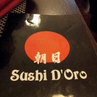 Photo taken at Sushidoro by Moise D. on 2/14/2013