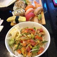 Photo taken at Sango Sushi by Lena on 4/4/2014