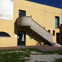 Photo taken at Biblioteca Civica di Brendola by Davide on 10/23/2012