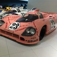 Photo taken at Porsche Museum by Evgraf B. on 10/2/2012