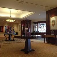 Photo taken at Corinthia Hotel Prague by Arina Kulikova Г. on 10/12/2012
