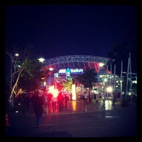 Photo taken at ANZ Stadium by Ashley H. on 9/21/2012