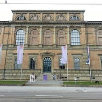 Photo taken at Alte Pinakothek by Jesus E. on 1/1/2013